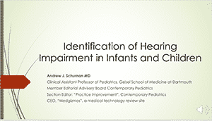 Hearing Screening Webinar